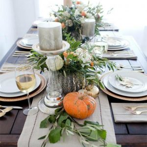 10 Fall Thanksgiving Tablescapes