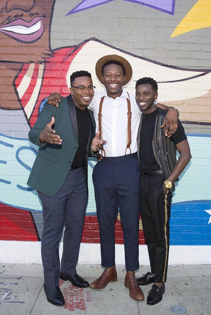 MARCEL SPEARS, BRANDON MICHEAL HALL, BERNARD DAVID JONES
