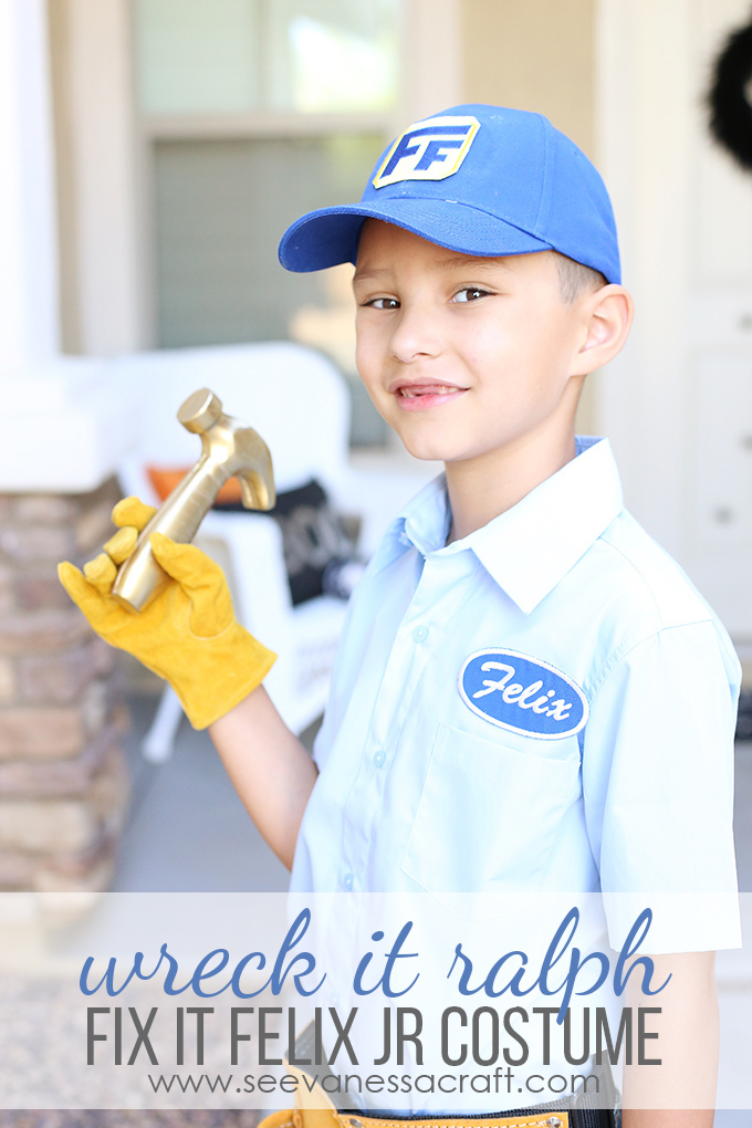 Fix It Felix Jr Handmade Costume