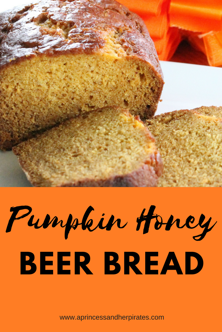 Pumpkin-Honey-beer-bread