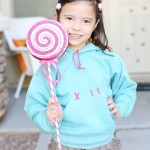 Halloween: DIY Vanellope Costume from Disney Wreck It Ralph