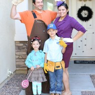 DIY Halloween Wreck-It Ralph Family Costume Idea
