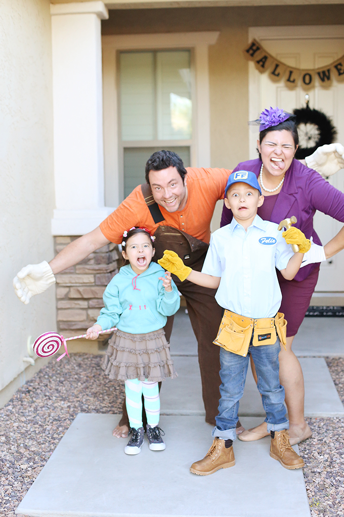 Wreck It Ralph Family Halloween Costume 2 copy