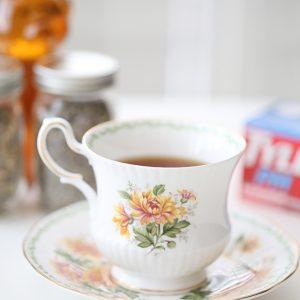 Lavender Chamomile Tea with Honey Recipe copy