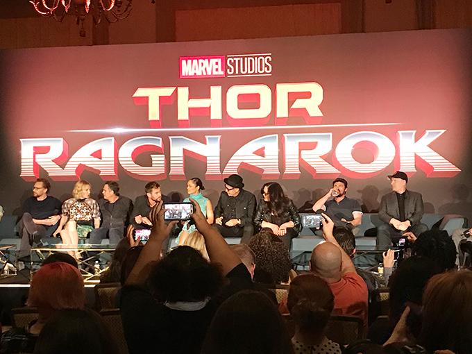 Thor Ragnarok Press Conference