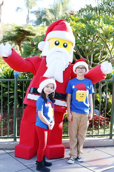 LEGOLAND California for Christmas