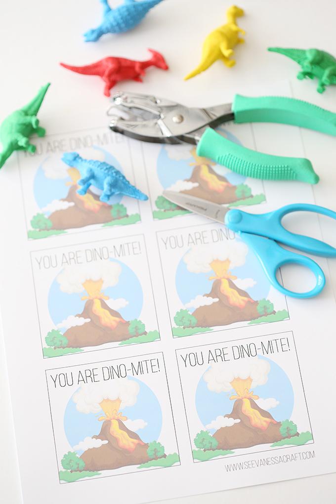 Printable Dinosaur Valentines 1 copy