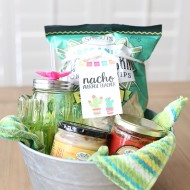 Craft: Nacho Average Teacher Gift Basket