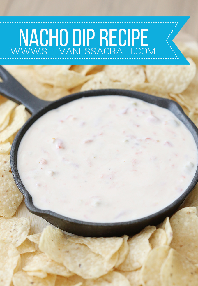 Easy Nacho Cheese 3 Ingredient Recipe for Parties
