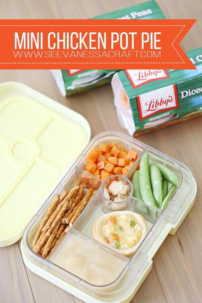 Lunchbox Mini Chicken Pot Pie Recipe for Kids