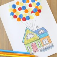 Disney: Pixar UP Printable and Craft for Kids