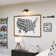DIY: Modern Farmhouse Playroom Makeover