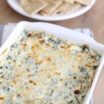 Easy Spinach Artichoke Dip Recipe