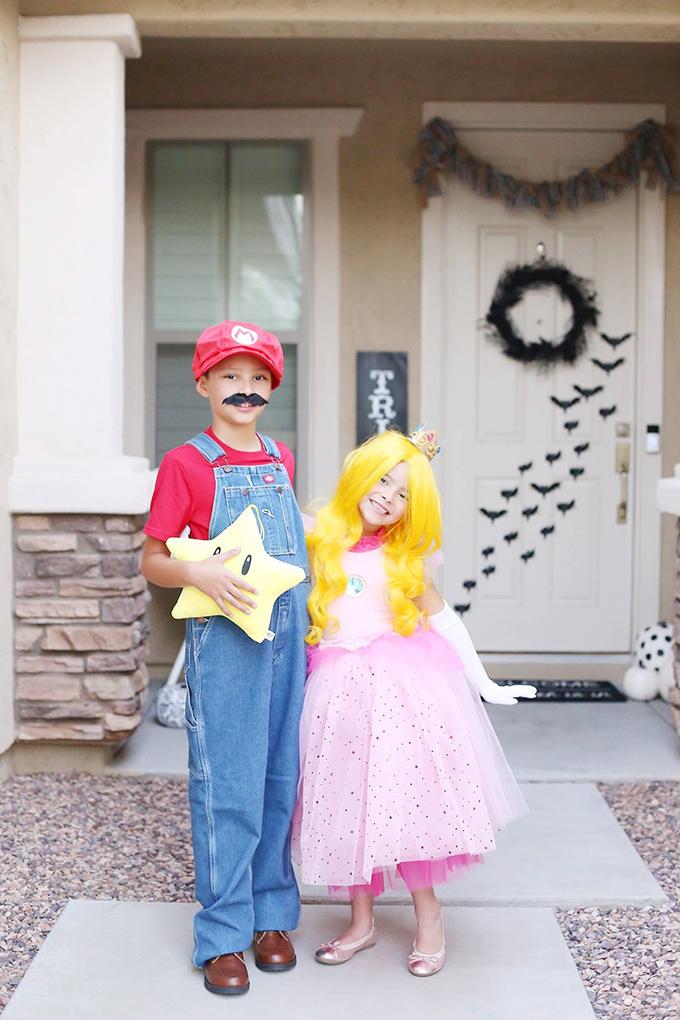 mario and luigi girl costumes diy