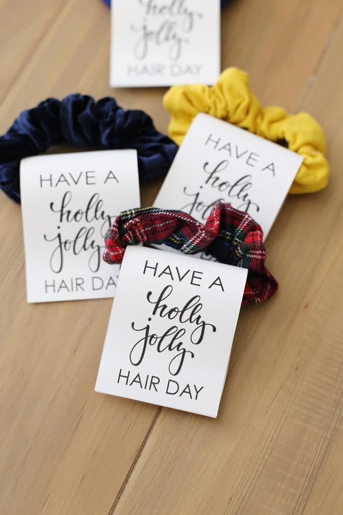 Hair Scrunchie Christmas Gift Idea See Vanessa Craft