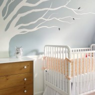 Nursery Feature: Violet's Small Sloped Space