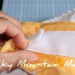 {Cloth Diaper Week} Cloth Diaper Conversion – Velcro to Snaps Tutorial