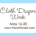 {Cloth Diapering Week} Thank you!