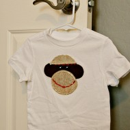 {Pinteresting Pin} DIY Sock Monkey Shirt