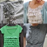 {DIY Roundup} Ruffle Shirts