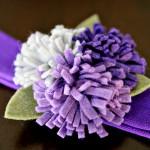 {DIY Tutorial} Felted Flower Headband
