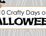 {10 Crafty Days of Halloween} Pottery Barn Knockoff Chalkboard Rocks