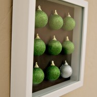 (diy tutorial) mod christmas ornament art