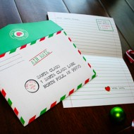 (guest tutorial) santa letter printable
