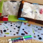 (guest tutorial) dry erase i-spy bag