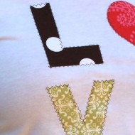(guest tutorial) diy love shirt