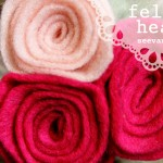 (diy tutorial) felt rose headband