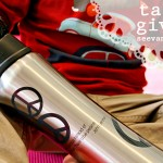 (giveaway) tazzini stainless steel water bottle
