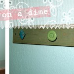 (crafting on a dime) knobby wall hooks