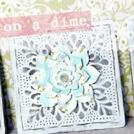 (crafting on a dime) wall decor for $8