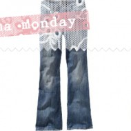 (buff mama monday) hello new smaller jean size, plus a letter