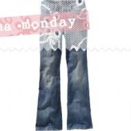 (buff mama monday) hello new smaller jean size, plus a letter