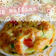 (recipe) veggie egg muffins
