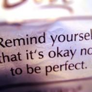 (buff mama monday) it's okay not to be perfect