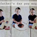 (diy tutorial) father's day photo pop magnets