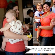 (buff mama monday) what a difference a year makes