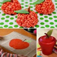 (diy roundup) back to school apples