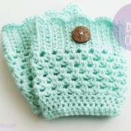 (crafting on a dime) diy crochet boot cuff