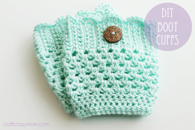 Crafting On A Dime Diy Crochet Boot Cuff See Vanessa Craft