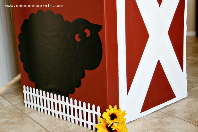Diy Tutorial Cardboard Box Barn See Vanessa Craft