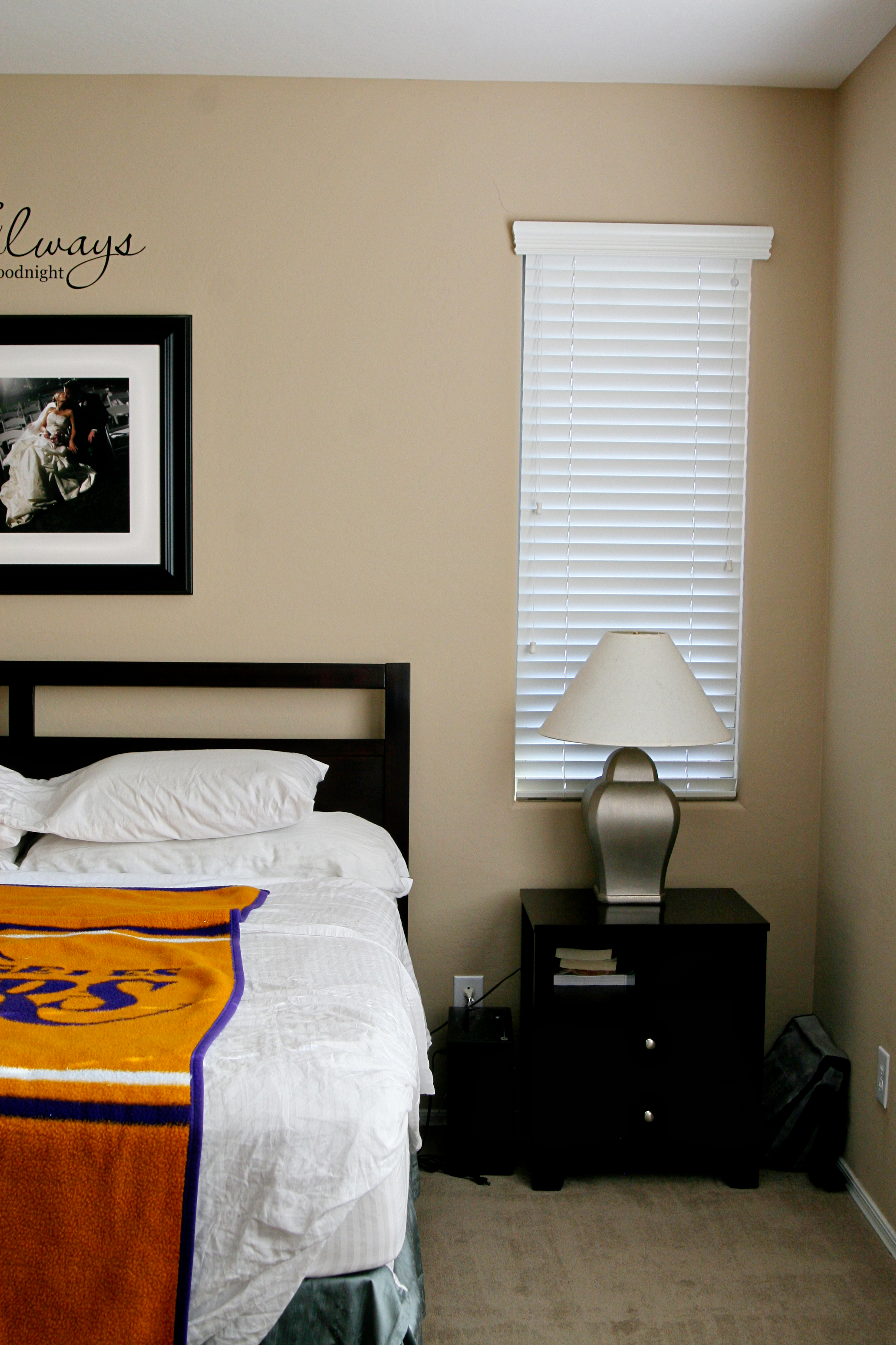 Fine Epic Room Makeover My Builder Beige Master Bedroom Paint Largest Home Design Picture Inspirations Pitcheantrous