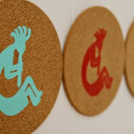 (diy tutorial) diy kokopelli trivets & world market