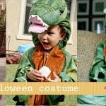 (logan) dinosaur costumes and marshmallows