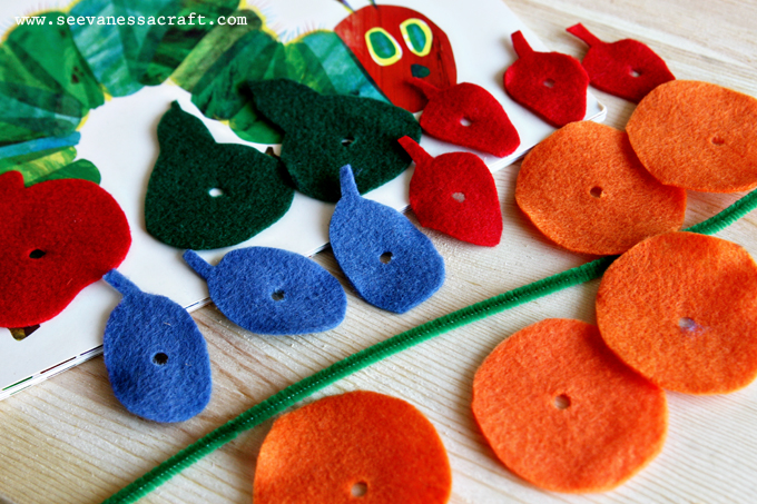 Tot School Tuesday - Very Hungry Caterpillar