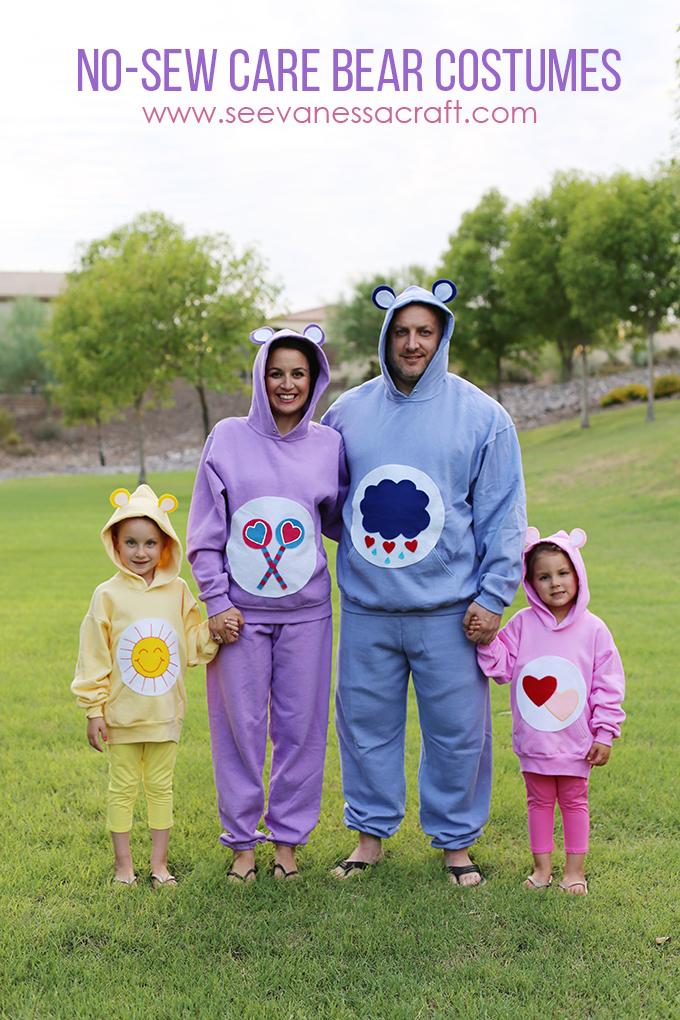last minute care bear costume