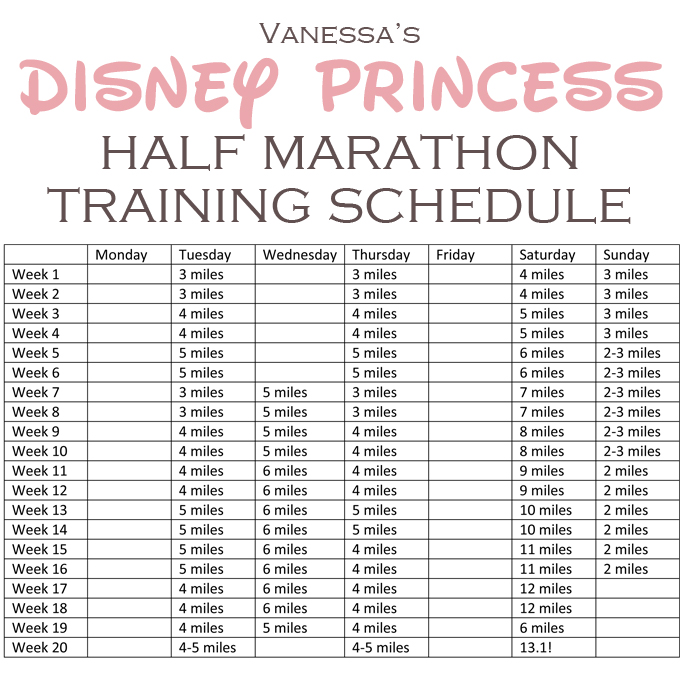 Half Marathon Training Beginners Schedule 10 Weeks | New Calendar ...